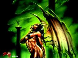 фэнтези, демоны
