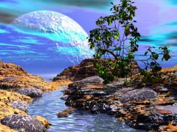 3д, графика, nature, landscape, природа