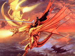 jeff, easley, 22, фэнтези, драконы