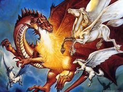 jeff, easley, 21, фэнтези, драконы