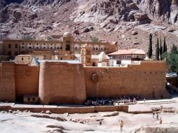 синай, монастырь, санта, катарина, vi, век, города, православные, церкви, монастыри