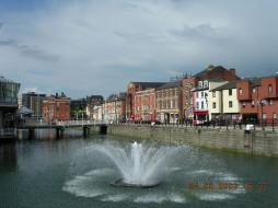 англия, города, фонтаны