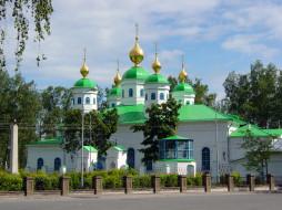 воскресенский, собор, Череповце, города, православные, церкви, монастыри