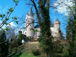замок, жлеба, Чехия, города, дворцы, замки, крепости