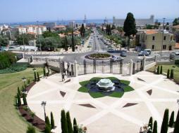 города, бахайские сады, хайфа, израиль