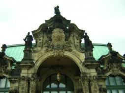 zwinger, dresden, города, дрезден, германия