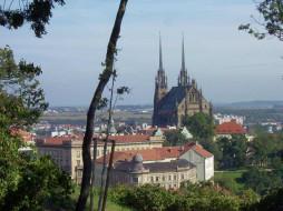 brno, petrov2, города, католические, соборы, костелы, аббатства