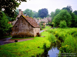 england, bibury, the, cotswolds, arlington, row, города, другое