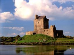 ireland, города, дворцы, замки, крепости, замок дангвайр, ирландия, dunguaire castle