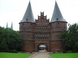 luebeck, города, исторические, архитектурные, памятники