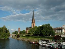 frankfurt, города, католические, соборы, костелы, аббатства