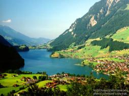 switzerland, berner, oberland, lungern, unterwalden, lungernsee, города, пейзажи