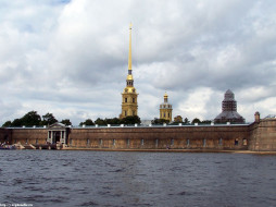 петропавловская, крепость, питер, города, санкт, петербург, петергоф, россия