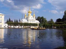 петергоф, верхний, парк, лето, 2005, города, санкт, петербург, россия