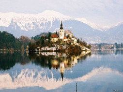 города, блед, словения