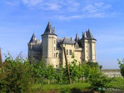 города, замки, луары, франция
