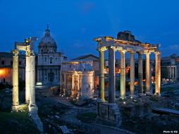 города, рим, ватикан, италия