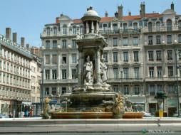 города, фонтаны