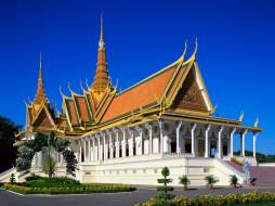 royal, palace, phnom, penh, cambodia, города, дворцы, замки, крепости
