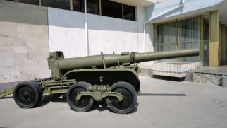 оружие, пушки, ракетницы, обр, 1931, гаубица, 203мм