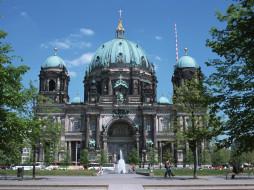 города, берлин, германия