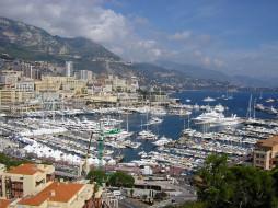 монако, днем, города, монте, карло