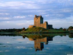 dunguaire, castle, kinvara, county, clare, ireland, города, дворцы, замки, крепости