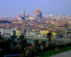 города, флоренция, италия