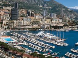 княжество, монако, города, монте, карло