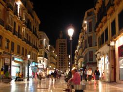 malaga, spain, города, улицы, площади, набережные