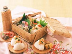 еда, рыба, морепродукты, суши, роллы