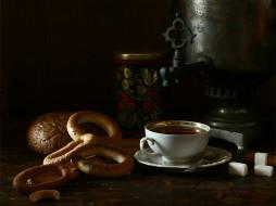 Ира Быкова - Чай из самовара обои для рабочего стола 1024x768 ира, быкова, Чай, из, самовара, еда, натюрморт
