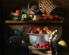 Ира Быкова - Урожай 2009. обои для рабочего стола 1280x1024 ира, быкова, урожай, 2009, еда, натюрморт