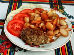 еда, вторые, блюда, томаты, помидоры
