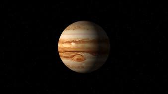 jupiter, in, space, космос, юпитер, планета