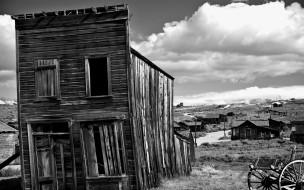 обои для рабочего стола 1920x1200 разное, развалины, руины, металлолом, дом, облака