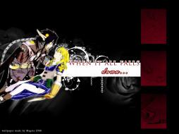 обои для рабочего стола 1600x1200 аниме, chrno, crusade, rosette, chrono