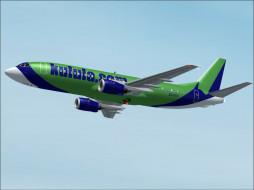 boeing, 737, авиация, 3д, рисованые, graphic