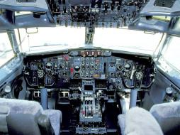 авиация, кабина, пилотов