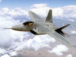 авиация, боевые, самолёты, raptor, f-22