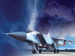 миг, 31, авиация, боевые, самолёты