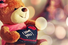 Сердечки любовь медвежонок я тебя