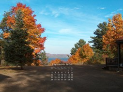 календари, природа