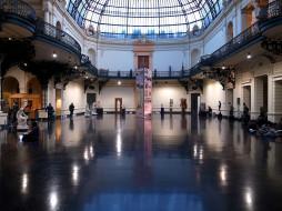 национальная, галерея, сантьяго, интерьер, дворцы, музеи