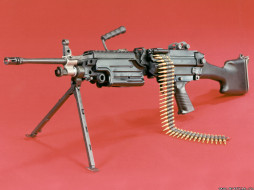 fn, m249, saw, оружие, пулемёты