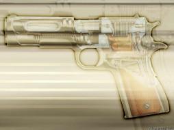 colt, оружие, 3d