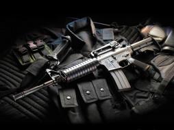 M4A1 carbine обои для рабочего стола 1024x768 m4a1, carbine, оружие, автоматы