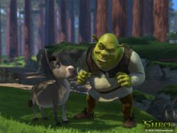 shrek, мультфильмы