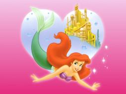 мультфильмы, the, little, mermaid