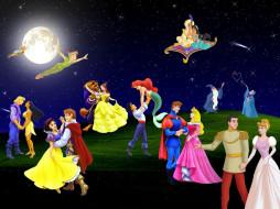 мультфильмы, disney`s, princess